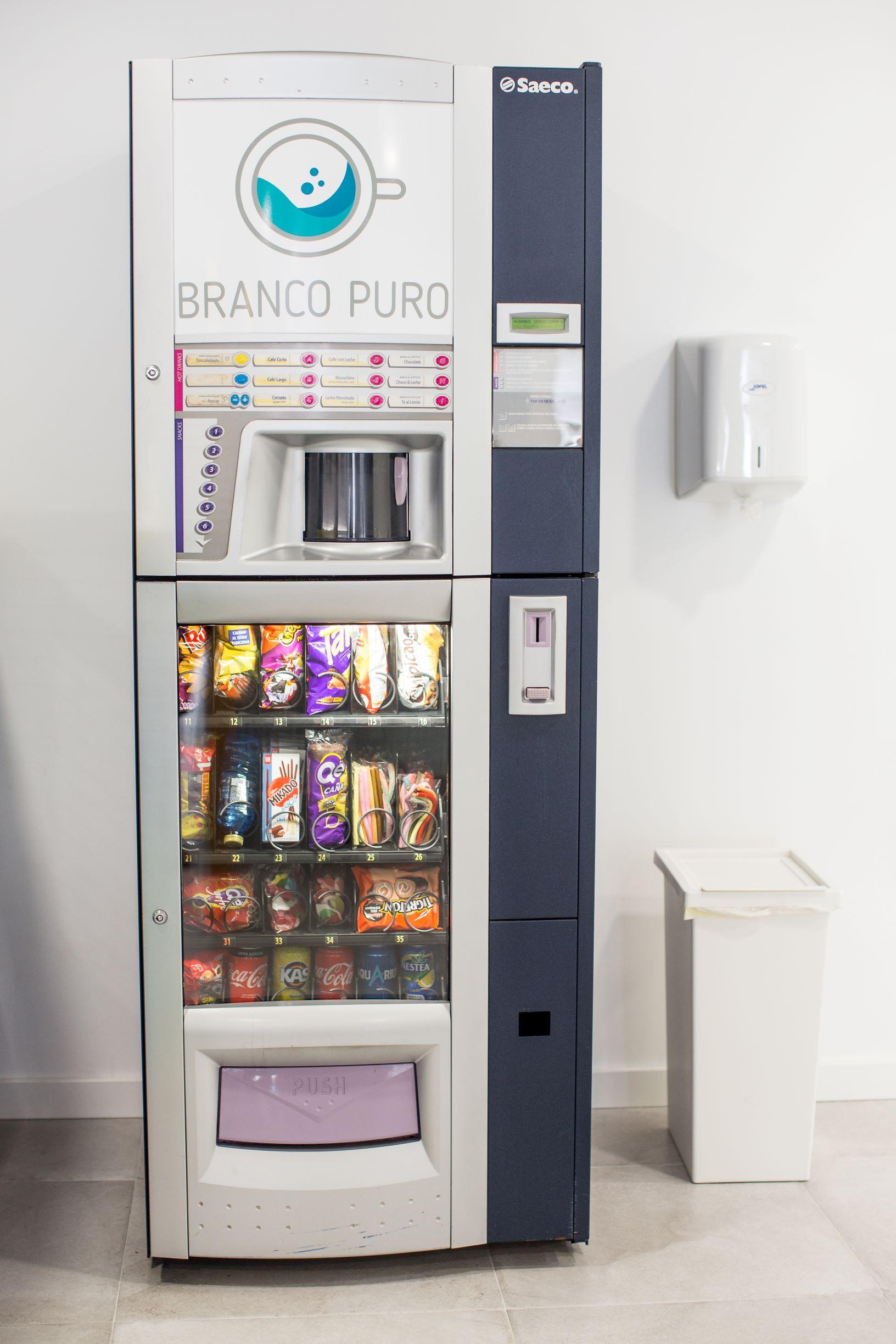 lavanderia con vending
