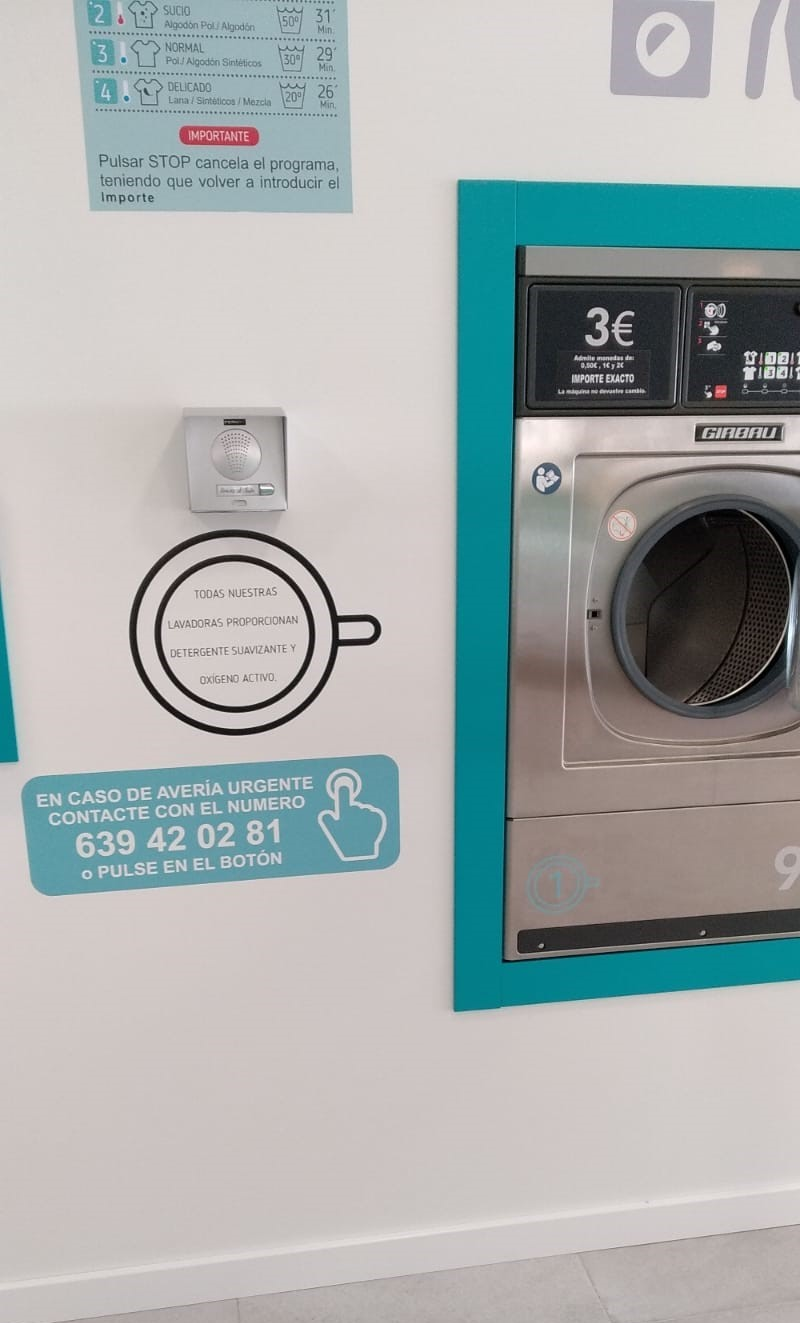 lavanderia en sanxenxo